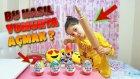 Kinder Dev Sürpriz Yumurtasını Merdane İle Parçalayıp Açmak !!