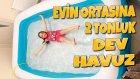 Evin Ortasına 2 Tonluk Dev Sıcak Su Havuzu Kurduk ( Biraz Abarttık Galiba )