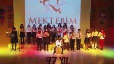 Halay Gel Yanıma Gir Koluma 23 Nisan Bahçeşehir Mektebim Okulu Müzik Öğretmeni Sabiyna Eşme