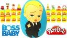 Patron Bebek Sürpriz Yumurta Oyun Hamuru - The Baby Boss Oyuncakları Emojiler