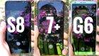Galaxy S8, iPhone 7 Plus ve LG G6 Karşılaştırması (Hangisi daha hızlı?)