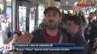 Halk Otobüsünde 1 Mayıs Gerginliği