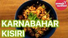 Karnabahar Kısırı Tarifi | Yemek Tarifleri