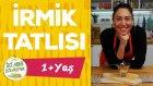 Bebekler İçin İrmik Tatlısı - ŞEKERSİZ (1+ Yaş) | İki Anne Bir Mutfak
