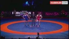 Avrupa Güreş Şampiyonası'nda Rıza Yıldırım Altın Madalya Kazandı