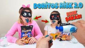 Doritos Risk 2.0 Yarışmasında Melike ve Sineme Boyalı Eşek Şakası !!