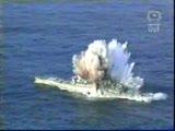 savaş gemisi böyle batırıldı