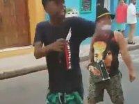 Kolombiya'nın Hızlı Gençlerinden Bağımlılık Yapan Rap Performansı