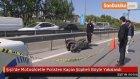 Şişli'de Motosikletle Polisten Kaçan Şüpheli Böyle Yakalandı