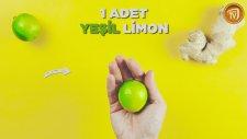 Zecefilli Yeşil Limonlu Detoks Tarifi