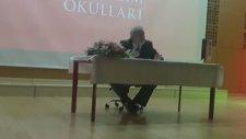 Prof. Dr. İlber Ortaylı Bahçeşehir Mektebim Okulunda Öğrenciler ile Buluştu Erhan Yıldırım