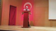 3.Deney Mektebi Bilim ve Proje Yarışması Akademik Kurul Başkanı Erdem Çıplak'ın Açılış Konuşması