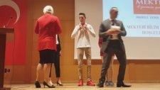 3.Deney Mektebi Bilim ve Proje Yarışması Dereceye Giren Öğrenciler Ödüllerini Aldılar