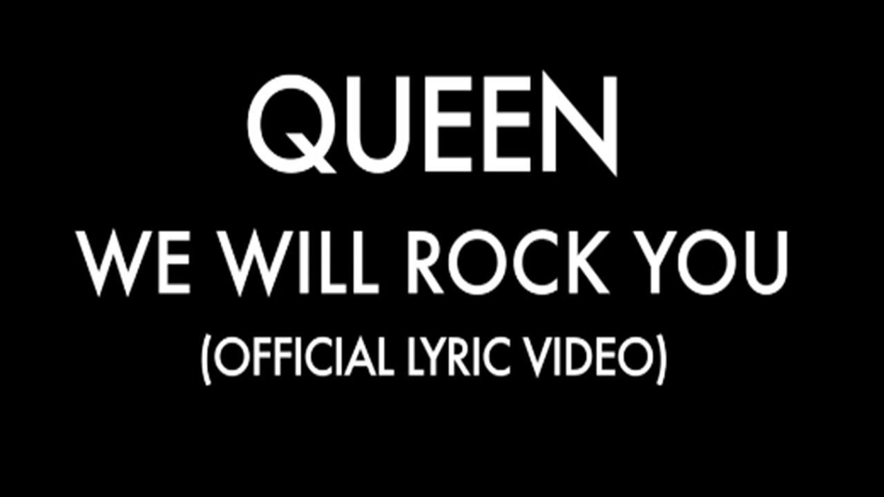 queen we will rock you