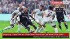 Beşiktaş, Derbi Öncesi Vodafone Arena'nın Çimlerine Özel Şekil Verdi