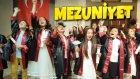 Mezuniyet Kep Atma Törenim Tiyatro Oynadık Dans Ettik Oyunlar Oynadık !!