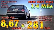 Bugatti Veyron'a Bile Kafa Tutabilecek Güçte Olan 1200 Beygirlik Golf!