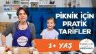 Çocuklarla Piknik İçin Pratik Tarifler (1+ Yaş) - Profilo ile Pişiriyoruz | İki Anne Bir Mutfak