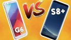 Galaxy S8+ vs Lg G6 Karşı Karşıya! - 2017 Model Karşılaştırma! - Shiftdeletenet