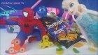 Elsa Sihir Mi Yapıyor? Spiderman Stres Çarkı İle Ne Yapıyor? Örümcek Adam Temizlik Mi Yapıyor?