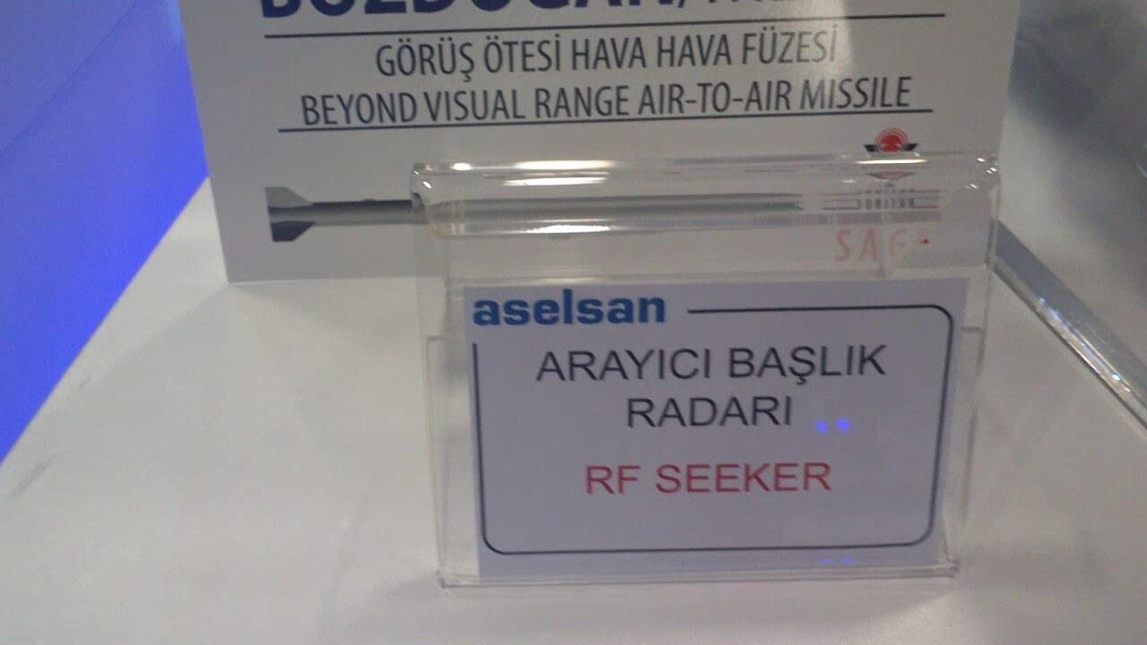 Aselsan Hisar Medium Range Air Defence Missile Rf Seeker