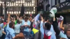 Celta Vigo Taraftarı Manchester'ı Salladıı