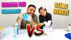Kabartma Tozu Slime VS Karbonat Slime Challenge - Melike Bittin Sen !!