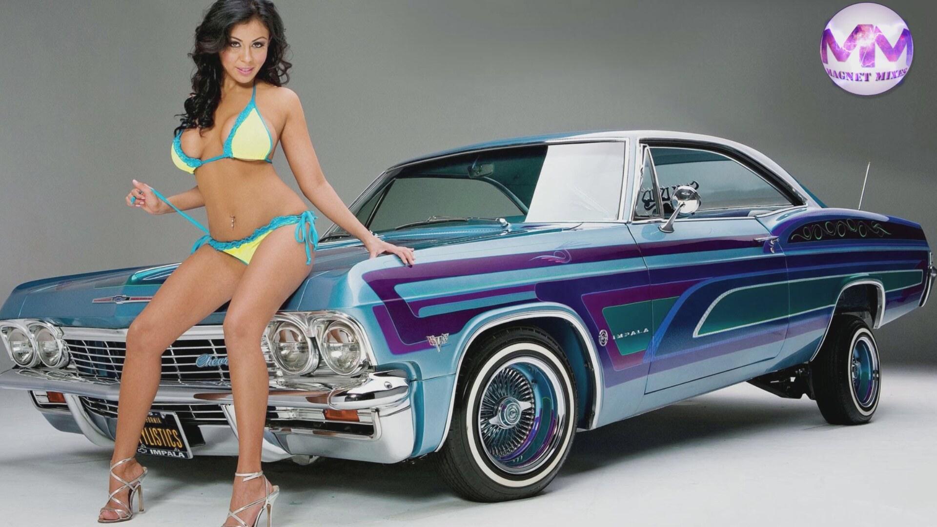Bandit bikini car muscle