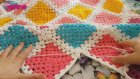 Tığ İşi Kolay Bebek Battaniyesi Modeli Yapımı