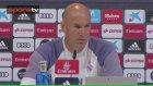 Zidane'dan özlü sözler!..
