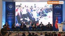 Tbmm Başkanı İsmail Kahraman'a, Gazi Üniversitesi Rektörlüğünce, Fahri Doktora Unvanı Verildi