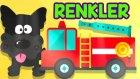 Arabalar ve Hayvanlarla Renkleri Öğreniyoruz | Çocuklar İçin Renkler | Eğitici Video
