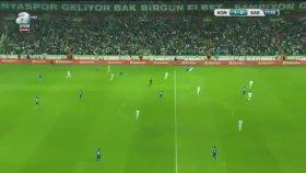 Atiker Konyaspor 2-0 Kasımpaşa (Maç Özeti - 16 Mayıs 2017)