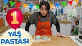 Bir Yaş Pastası Nasıl Yapılır?   Bebek Tatlıları   İki Anne Bir Mutfak