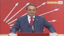 CHP Myk Toplantısının Ardından, Parti Sözcüsü Bülent Tezcan Açıklamalarda Bulundu