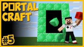 Emerald Dünyasına Gittim,  Elmas Ve Altından Ev Yaptım - Portalcraft #5