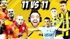 11 Tane Sneıjder Vs 11 Tane Van Persıe ! Epıc Maç