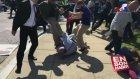 Cumhurbaşkanının Korumları ve Vatandaşların Abd'deki Kavgaları