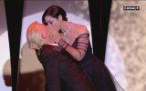 Monica Bellucci'nin Öpüşmesi  Cannes