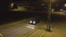 Polis Aracının Dursun Özbek İstifa Anonsu Yapması
