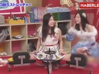 Japon Kızlarına Bacak Açtıran Yarışma