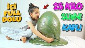 25 Kilo Slime Çorbası Kaplı MEGA Sürpriz Yumurta İçinde Ne Ararsan Var !!