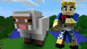 Mınecraft Solo - Koyun Çiftliği - Bölüm 12 - Burak Oyunda