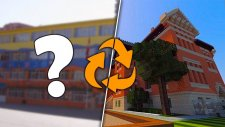 Minecraft'ta Kendi Okulumu Yapıyorum !!