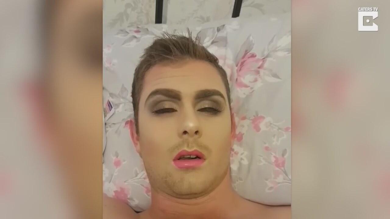 Erkek Arkadaşının Yüzünü Boya Küpüne çeviren Kadın Izlesenecom