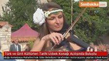 Türk ve Girit Kültürleri Tarihi Uzbek Konağı Açılışında Buluştu