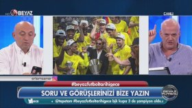 Ahmet Çakar'ın Seremonide Nusret Fotoğrafına Tepkisi (Beyaz Futbol - 21.05.2017)