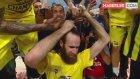 Antic, 'Şampiyon Olursak Saçımı Kestiririm' Diyen Datome'nin Saçlarını Kesti