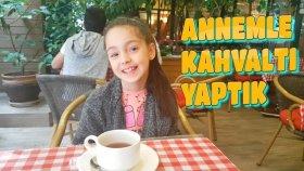Bursa Termal Otelde Annemle İlk Sabah Kahvaltımız