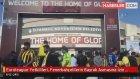 Euroleague Yetkilileri, Fenerbahçelilerin Bayrak Asmasına İzin Vermedi